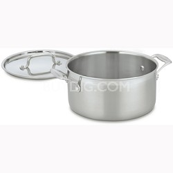 MultiClad Pro Stainless 6-Quart Saucepot with Cover (MCP44-24)