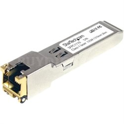 Cisco Compatible Gigabit RJ45 Copper SFP Transceiver Module - SFPC1110