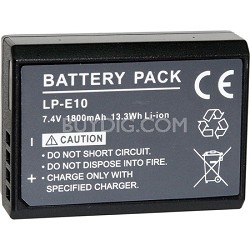 Replacement Battery Pack LP-E10 For EOS Rebel T3