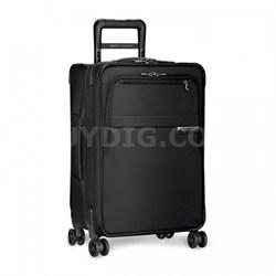 """Baseline Collection 25"""" Medium Expandable Luggage Spinner (Black) U125CXSP-4"""