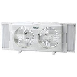 "7"" Twin Window Fan - 2137 - OPEN BOX"