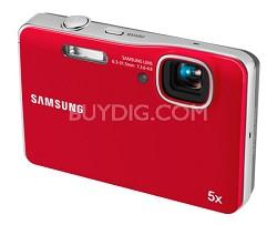 AQ100 Waterproof Digital Camera (Red)