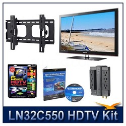 LN32C550 - HDTV + Hook-up Kit + Power Protection + Calibration + Tilt Mount
