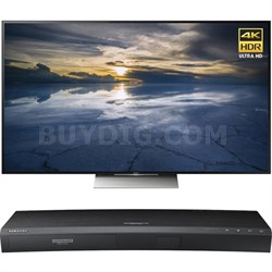 55-Inch Class 4K HDR Ultra HD TV - XBR-55X930D w/ Samsung Disc Player