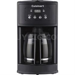 DCC-500 12-Cup Programmable Black Coffeemaker - Factory Refurbished