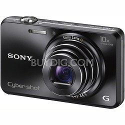 Cyber-shot DSC-WX150 18.2 MP 10x Optical HD Video 3D Sweep Camera (Black)