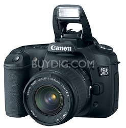 EOS 30D SLR Camera and EF 28-135mm Kit with USA Warranty!