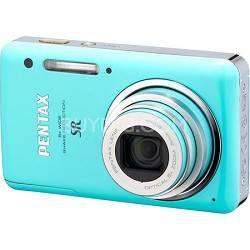 Optio S1 Ultra-Compact Digital Camera - Green