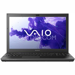 VAIO VPCSE1DGX - 15.5 Inch Laptop Core i5-2430M Processor (Black)