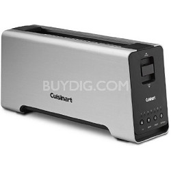 CPT-2000 2-Slice Extruded Aluminum Long-Slot Toaster