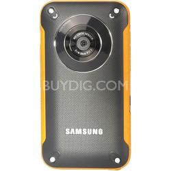 HMX-W300YN HD Pocket Camcorder (Yellow)