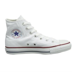 Chuck Taylor All Star High Top Sneakers (White) Size 9