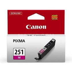 CLI-251 Magenta Ink Tank for PIXMA iP7220, MG5420, MG6320 Printers