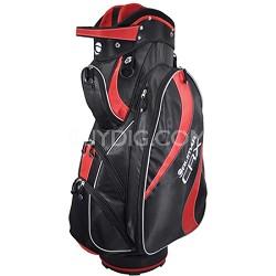 CRX Cart Bag - Red/Black - OPEN BOX