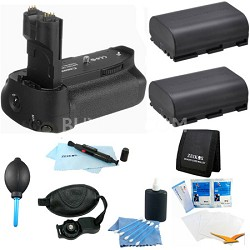 Advanced Battery Grip Bundle for the EOS 7D Digital SLR Camera