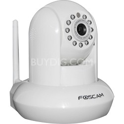 FI9821W V2 (White) 1.0 Megapixel (1280x720p) H.264 Wireless IP Camera