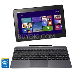 T100TA-C1-GR Transformer Book Quad Core Baytrail-T Z3740 Detachable Notebook