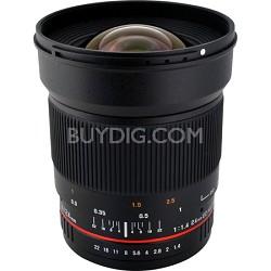 24mm F1.4 Wide-Angle UMC Lens for Samsung NX