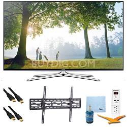 """55"""" Smart 1080p HDTV Clear Motion 240 Wi-Fi Tilt Mount & HookUp Bundle UN55H6350"""