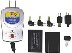 Universal AC Adapter for Digital Cameras