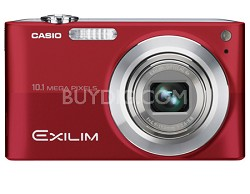 "Exilim EX-Z200 10.1MP Digital Camera with 2.7"" LCD (Red) - OPEN BOX"