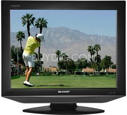 "LC-20S7U - AQUOS 20"" LCD Flat Panel TV"