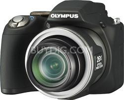 "SP-590 Ultra-Zoom 12MP 2.7"" LCD Digital Camera (Black)"