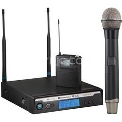 Handheld Wireless Microphone with PL22 Dynamic (CHANNEL A)