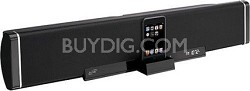 2.1-Channel Speaker Bar with iPod Dock (Black)
