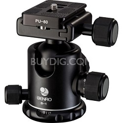 PU-60 Ball Head with Quick Release & supports 26 LBS.