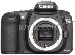 EOS 20D DSLR Body With USA Warranty (Lens Is Not Included)