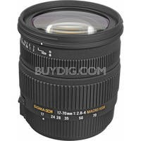 17-70mm f/2.8-4 DC Macro HSM Lens for Sony/Minolta Digital Cameras