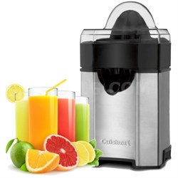 CCJ-500 Pulp Control Citrus Juicer, Brushed Stainless - Factory Refurbished