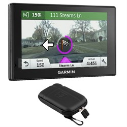 010-01541-01 DriveAssist 50LMT GPS Navigator + Soft Sleeve Case Bundle
