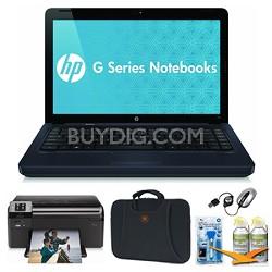 """14.0"""" G42-410US Black Notebook Essentials and Wireless Printer Bundle"""