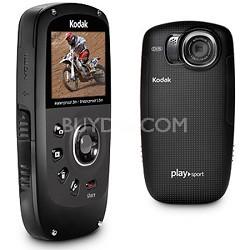 Playsport Zx5 Waterproof Pocket HD Video Camera Black - OPEN BOX