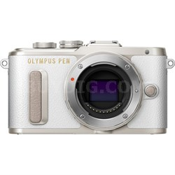 PEN E-PL8 16.1 MP Wi-Fi White Mirrorless Digital Camera Body