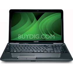 "Satellite 15.6"" L655D-S5159 Notebook PC - Gray AMD N660"