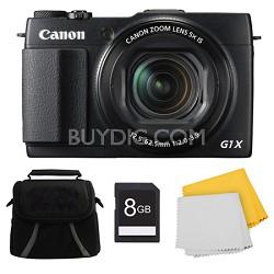 PowerShot G1 X Mark II Digital Camera 8GB Kit