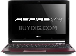Aspire AO533-23096 10.1-Inch Netbook (Glossy Red) - OPEN BOX