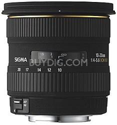 Super Wide Angle Zoom 10-20mm f/4-5.6 EX DC HSM AF Lens for Canon Digital SLRs