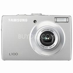 "L100 8MP 2.5"" LCD Digital Camera (Silver)"