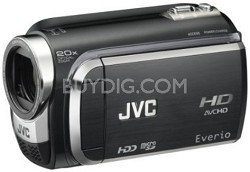 Everio GZ-HD320 120GB High-Def Camcorder (Black)