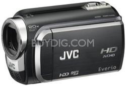 Everio GZ-HD320 120GB High-Def Camcorder (Black)