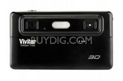 Vivicam 3D T135 12.1MP 5X Digital Zoom Digital Camera Black