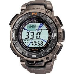 """Men's PAG240T-7CR """"Pathfinder"""" Triple-Sensor Multi-Function Titanium Watch"""