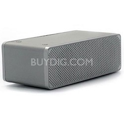 DropNplay Wireless Speaker - Silver