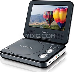 TFDVD7307 7 inch Widescreen TFT Portable DVD/CD/MP3 Player
