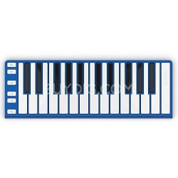 Xkey 25-Key MIDI Portable Mobile Musical Keyboard - Blue
