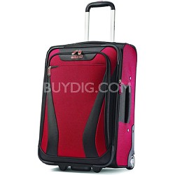 "Aspire Gr8 21"" Exp. Upright Suitcase - Crimson Red"